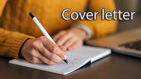 نمونه Cover Letter برای ارسال مقاله به ژورنال